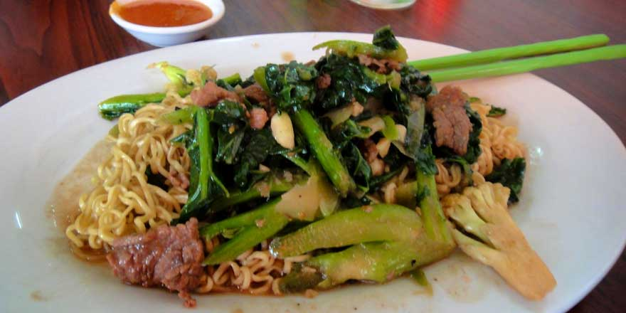 menu Cambodgienne
